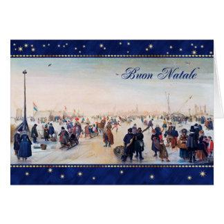 Buon Natale. Tarjetas de felicitación italianas