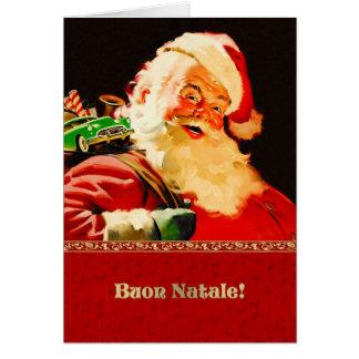 Buon Natale. Tarjetas de Navidad adaptables