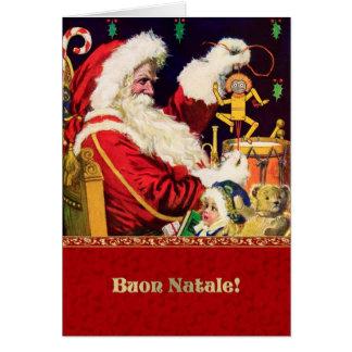 Buon Natale. Tarjetas de Navidad adaptables italia