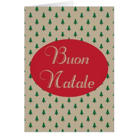 Buon Natale - tarjetas de Navidad italianas