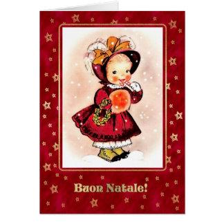 Buon Natale. Tarjetas de Navidad italianas