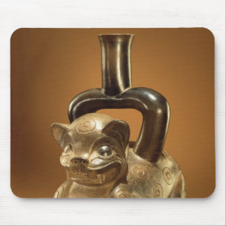 Buque con el puma, cultura de Chavin, c.90 A.C. Alfombrillas De Raton