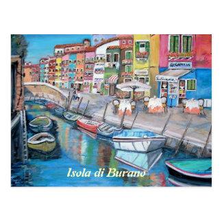 Burano, Italia - postal