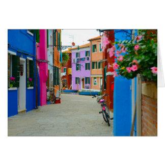 Burano Italia Tarjeta