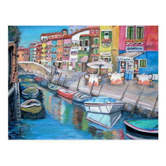 Burano, Venecia - postal