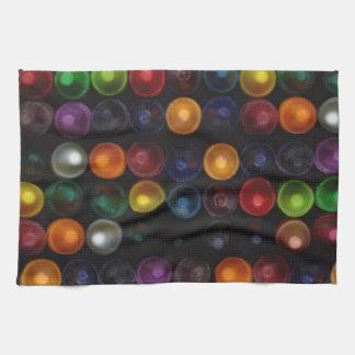 Burbuja colorida paño de cocina