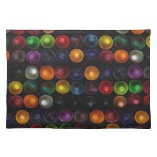 Burbuja colorida salvamanteles