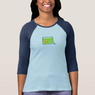 Burbuja personal de Texting - versión del emoji Camiseta