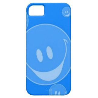 Burbujas sonrientes funda para iPhone 5 barely there