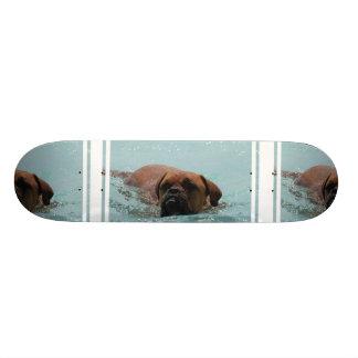 Burdeos de la natación tablas de skate