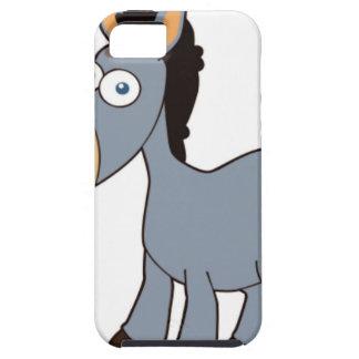 burro gris funda para iPhone SE/5/5s