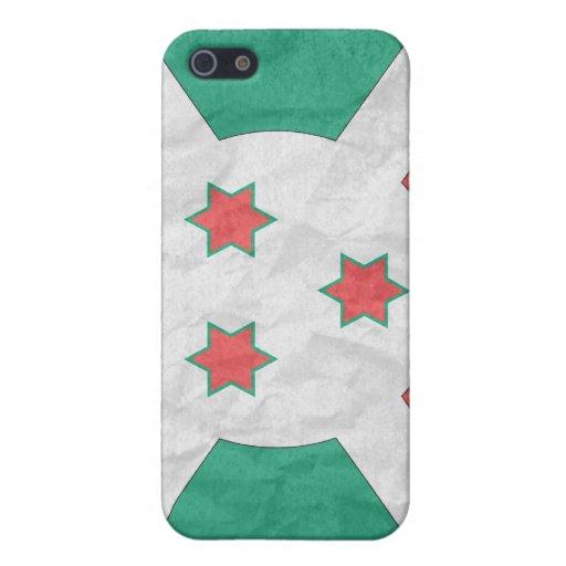 Burundi iPhone 5 Carcasas