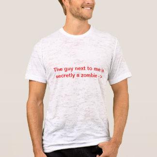 Buscador del zombi camiseta