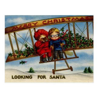 Buscar la postal del vintage de las Felices