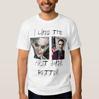 Bush/camisa del comodín de Obama Camiseta