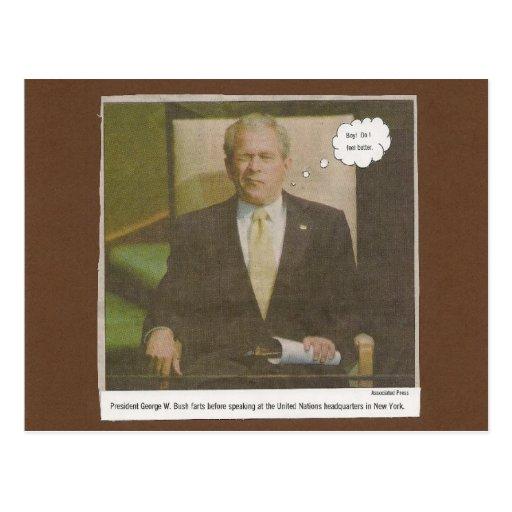 Bush farkles. tarjeta postal