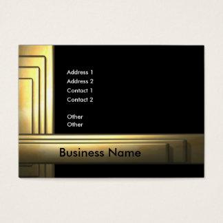 business_gold_big tarjeta de negocios