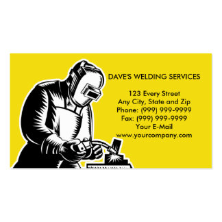 businesscard de la soldadura del soldador tarjeta de visita