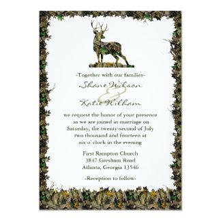 Búsqueda de la invitación del boda del camuflaje