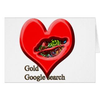 Búsqueda del oro de Google Tarjetas
