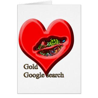 Búsqueda del oro de Google Tarjeta De Felicitación