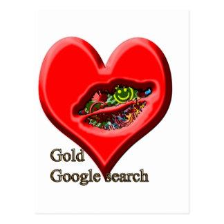Búsqueda del oro de Google Tarjetas Postales