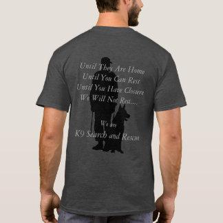 Búsqueda K9 y rescate Camiseta