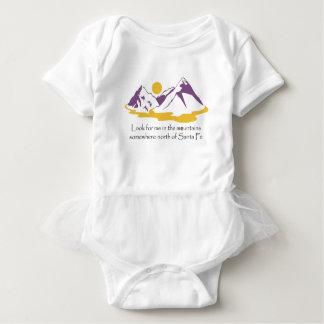 Busqúeme en las montañas body para bebé