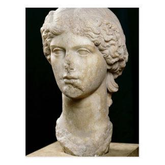 Busto de Agrippina el ANUNCIO de la anciano Postal