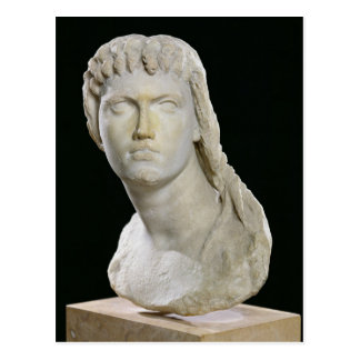Busto de Cleopatra II o sus hijas Postal
