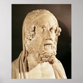Busto del home run, período helenístico posters