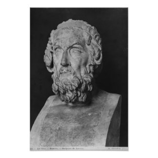 Busto del home run, período helenístico póster