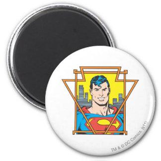 Busto del superhombre imanes