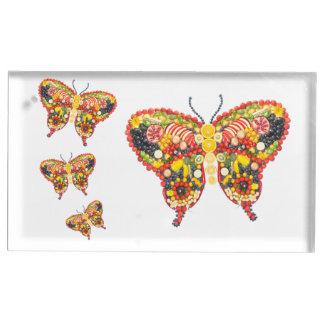 Butterflys de VeggieArt Soportes Para Tarjetas De Mesa