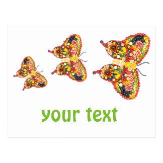 Butterflys del baile postal