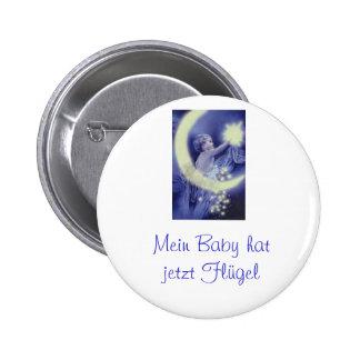 Button de recuerdo chapa redonda de 5 cm