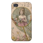 buttterfly chica iPhone 4 carcasas