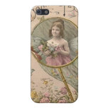 buttterfly chica iPhone 5 fundas