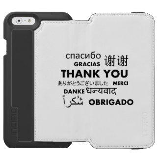 BW le agradece Funda Cartera Para iPhone 6 Watson