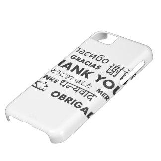 BW le agradece Funda Para iPhone 5C