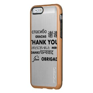 BW le agradece Funda Para iPhone 6 Plus Incipio Feather Shine