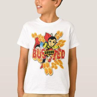 Bzzzz reventó la camiseta protegida de los niños