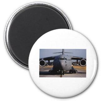 C-17 Globemaster III Imán Redondo 5 Cm