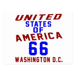 C.C. de los Estados Unidos de América 66 Postal