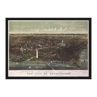 C.C. de Washington. De Potomac que parece del Impresion En Lona