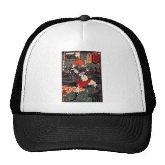 C. de pintura japonesa 1800's gorras de camionero