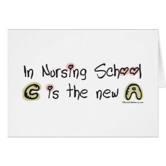 C es la nueva A en escuela de enfermería Felicitación
