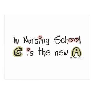 C es la nueva A en escuela de enfermería Postal