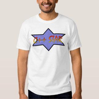 c++ estrella camisetas