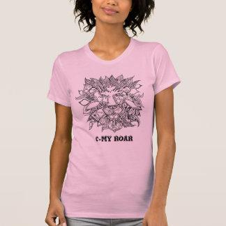 C-Mi rugido Camiseta